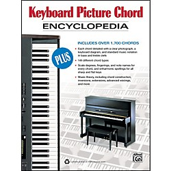 Alfred Keyboard Picture Chord Encyclopedia (Book) (00-34345)