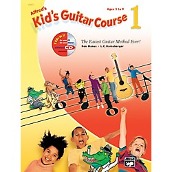 Alfred Kid's Guitar Course 1 Book Enhanced CD & DVD (00-31992)