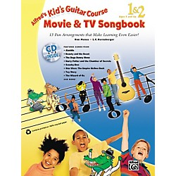 Alfred Kid's Guitar Course Movie & TV Songbook 1 & 2 (Book/CD) (00-33888)