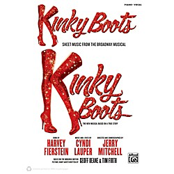 Alfred Kinky Boots - Sheet Music from the Broadway Musical P/V/C Book (00-41393)