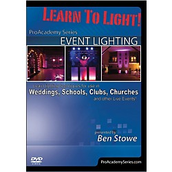 Alfred Learn to Light Pro Academy Series Event Lighting DVD (98-38937)