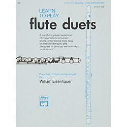 Alfred Learn to Play Flute Duets Book (00-860)