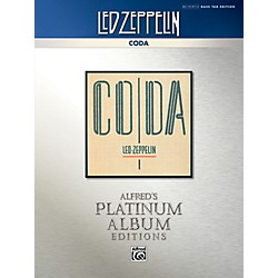 Alfred Led Zeppelin - Coda Platinum Bass Guitar TAB Book (00-40942)