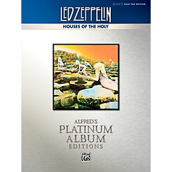 Alfred Led Zeppelin - Houses of the Holy Platinum Bass Guitar Book (00-40938)