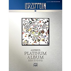 Alfred Led Zeppelin - III Platinum Bass Guitar Book (00-40936)