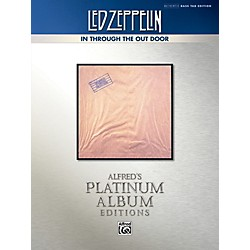Alfred Led Zeppelin - In Through the Out Door Platinum Bass Guitar TAB Book (00-40941)