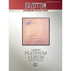 Alfred Led Zeppelin - In Through the Out Door Platinum Guitar TAB Book (00-37220)