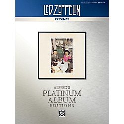 Alfred Led Zeppelin - Presence Platinum Bass Guitar TAB Book (00-40940)