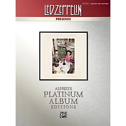 Alfred Led Zeppelin - Presence Platinum Guitar TAB Book (00-37222)