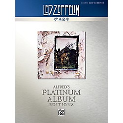 Alfred Led Zeppelin - Untitled (IV) Platinum Bass Guitar Book (00-40937)