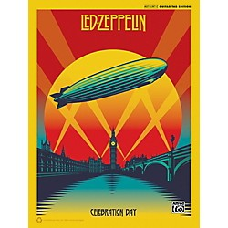 Alfred Led Zeppelin Celebration Day Guitar Songbook with TAB (00-40623)