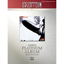Alfred Led Zeppelin I Guitar Tab Platinum Edition Book (00-32439)