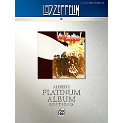 Alfred Led Zeppelin II Platinum Bass Guitar Book (00-40935)