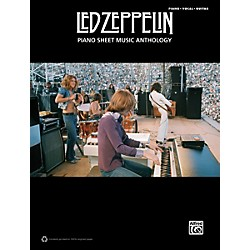 Alfred Led Zeppelin Piano Sheet Music Anthology PVG Book (00-39453)