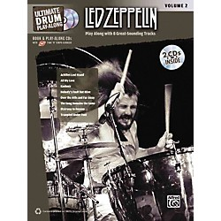 Alfred Led Zeppelin Ultimate Play Along Drums Volume 2 With 2 CD's (00-32419)