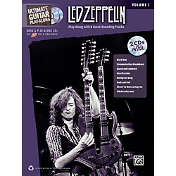 Alfred Led Zeppelin Ultimate Play Along Guitar Volume 1 With 2 CD's (00-32422)