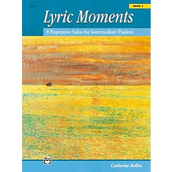 Alfred Lyric Moments Book 1 Intermediate Piano (00-14663)