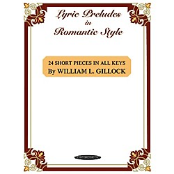 Alfred Lyric Preludes in Romantic Style Intermediate/Late Intermediate Piano (00-0649)