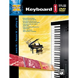 Alfred MAX Series Keyboard Instruction 1 (Book/DVD) (00-22662)