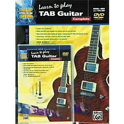 Alfred MAX Tab Guitar Complete (Book/DVD) (00-27709)