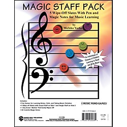 Alfred Magic Staff Pack - 5 Wipe Off Slates with Pen and Magic Notes (16-0673B)