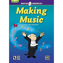 Alfred Making Music: CD-ROM By Morton Subotnick (00-30541)