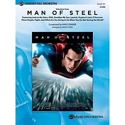 Alfred Man of Steel, Selections from Full Orchestra Level 3.5 Set (00-42078)