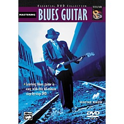 Alfred Mastering Blues Guitar (Book/DVD) (00-22860)