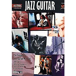 Alfred Mastering Jazz Guitar - Chord/Melody Book/CD (00-14126)