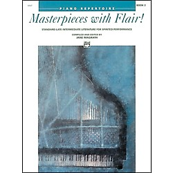 Alfred Masterpieces with Flair! Book 2 Intermediate/Late Intermediate Piano (00-6667)