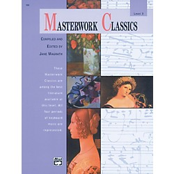 Alfred Masterwork Classics Level 3 Level 3 Book & CD (00-166)
