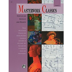 Alfred Masterwork Classics Level 5 Level 5 Book & CD (00-414)