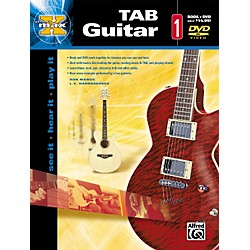 Alfred Max Tab Guitar 1 (Book and DVD) (00-25299)