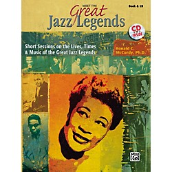 Alfred Meet the Great Jazz Legends Book/CD (00-32179)