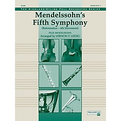"Alfred Mendelssohn's 5th Symphony ""Reformation,"" 4th Movement Concert Orchestra Grade 3 Set (00-12225)"