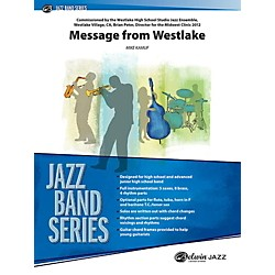 Alfred Message from Westlake Jazz Band Grade 3 Set (00-40358)
