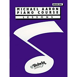 Alfred Michael Aaron Piano Course Lessons Grade 1 (00-11001A)