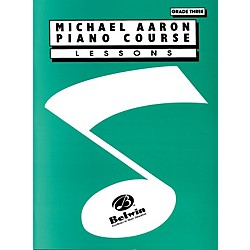 Alfred Michael Aaron Piano Course Lessons Grade 3 (00-11003A)