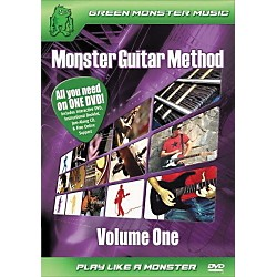 Alfred Monster Guitar Method Vol. 1 Dvd/Cd Set (41-ARD27256)