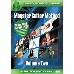 Alfred Monster Guitar Method Vol. 2 Dvd/Cd Set (41-ARD27257)