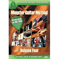 Alfred Monster Guitar Method Vol. 4 Dvd/Cd Set (41   ARD27259)
