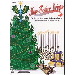 Alfred More Festive Strings 1st Violin (Book) (00-0972)
