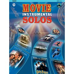 Alfred Movie Instrumental Solos for Trumpet Book/CD (00-IFM0309CD)