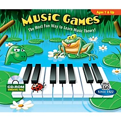 Alfred Music Games CD-ROM Jewel Case Windows/Macintosh (00-22649)