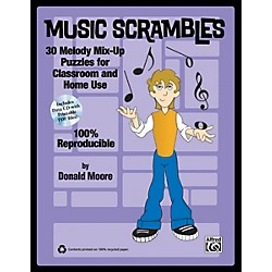 Alfred Music Scrambles Book & CD (00-35862)