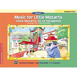 Alfred Music for Little Mozarts: Little Mozarts Go to Hollywood Pop Book 1 & 2 (00-29094)