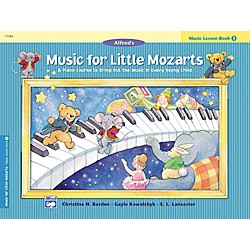 Alfred Music for Little Mozarts: Music Lesson Book 3 (00-17180)