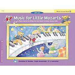 Alfred Music for Little Mozarts: Music Lesson Book 4 (00-17186)
