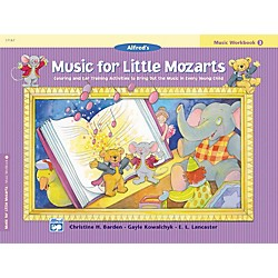 Alfred Music for Little Mozarts: Music Workbook 4 (00-17187)