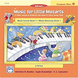 Alfred Music for Little Mozarts CD 2-Disc Sets for Lesson and Discovery Books Level 1 (00-14578)